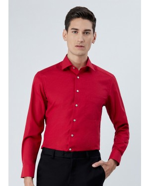 OLYMP เสื้อเชิ้ตแขนยาว ทรง Modern Fit สีแดง
