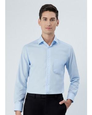 OLYMP เสื้อเชิ้ตแขนยาว ทรง Modern Fit สีฟ้า